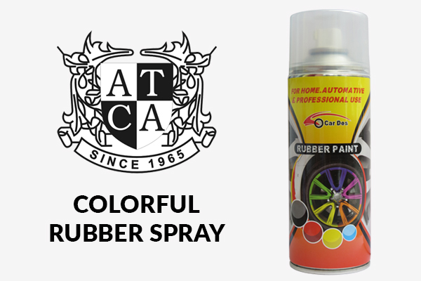 Colorful Rubber Spray