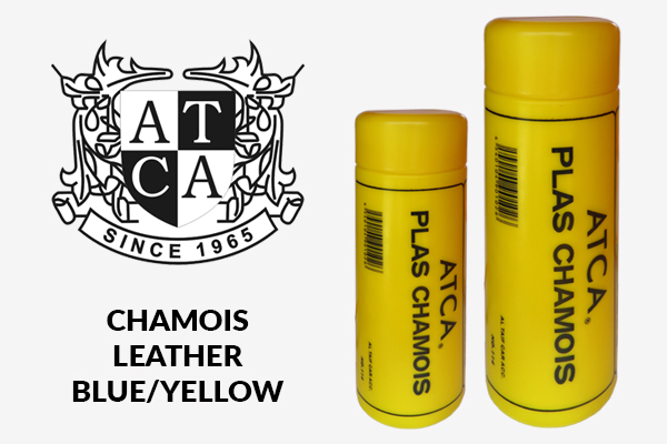 Chamois Leather Blue-Yellow
